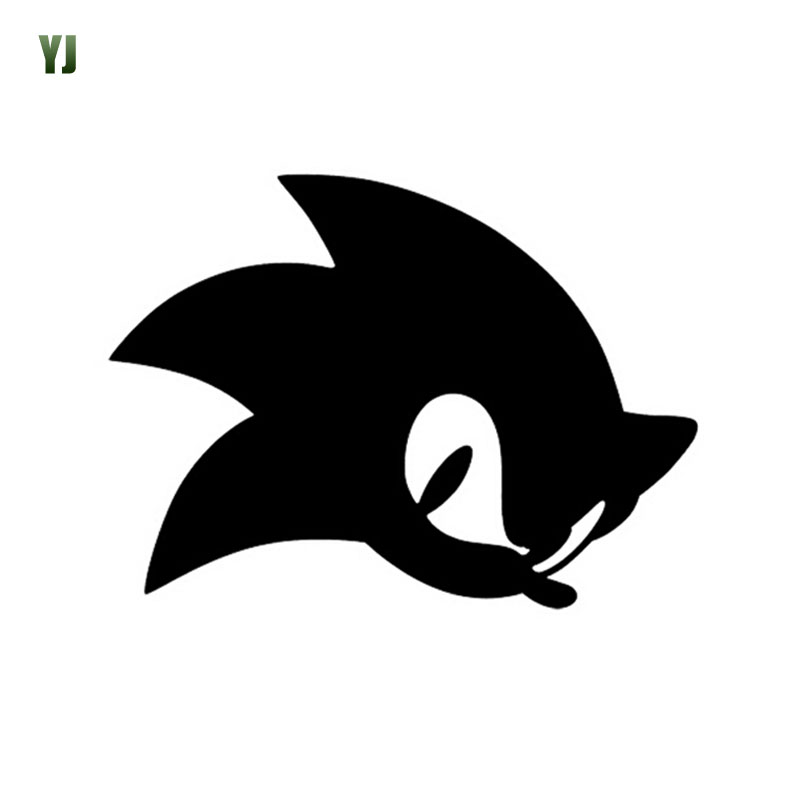13.5*10CM Games Sonic the Hedgehog Car Sticker Decals Cartoon Series Car Stickers And Decals CT-859<br><br>Aliexpress
