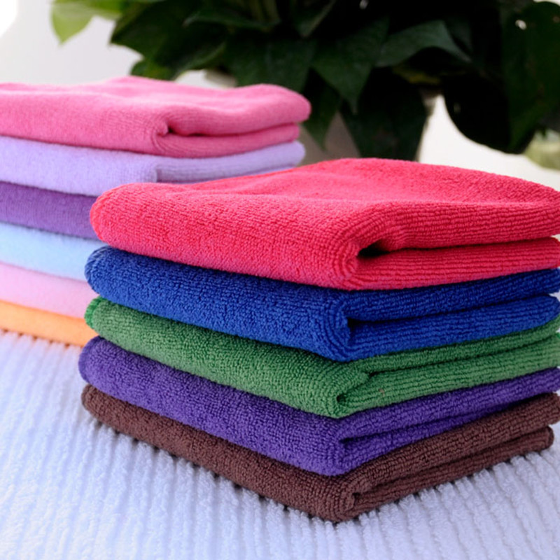 Small Towel: Manufacturers Supply 260g / M Microfiber Absorbent Towel