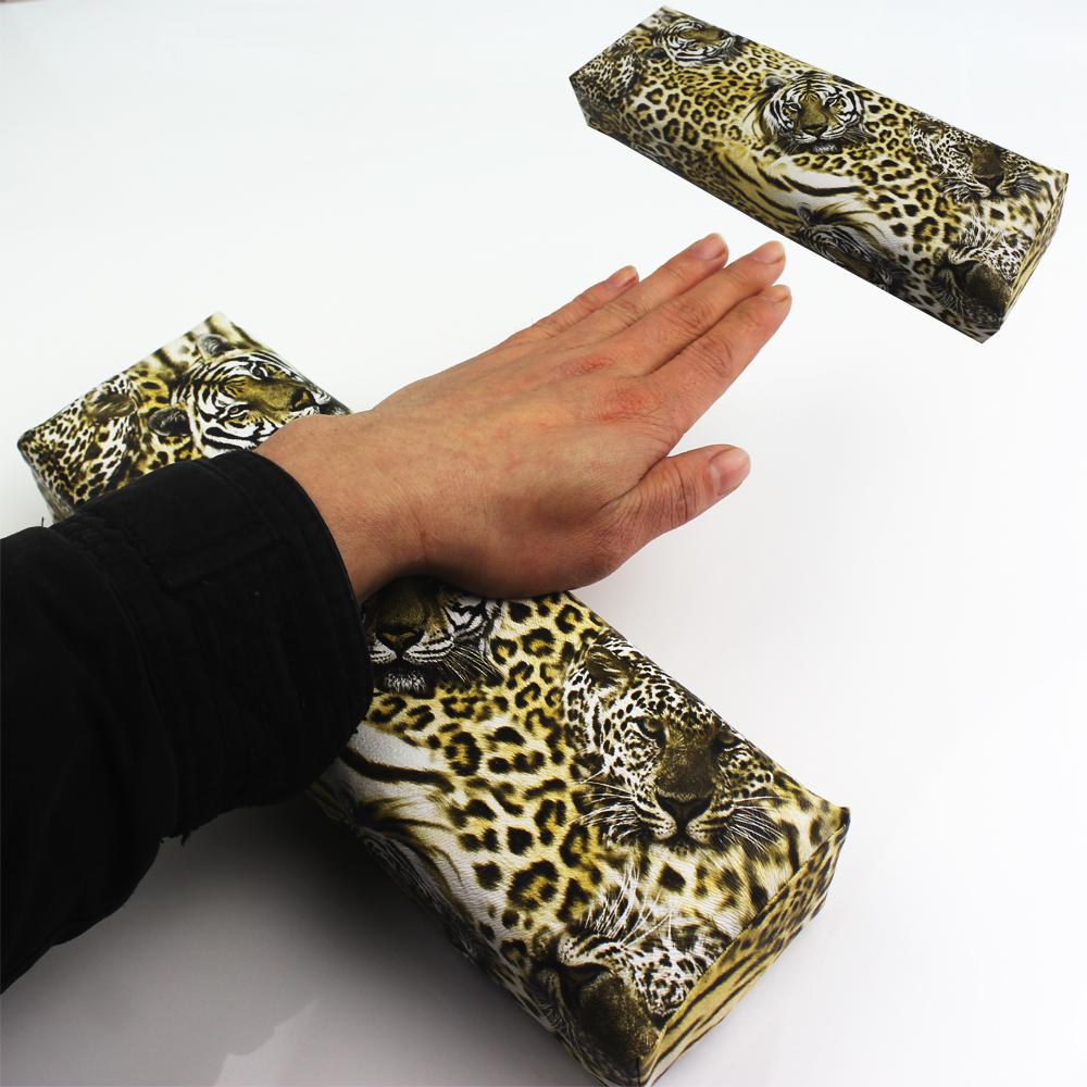 Nail Tools Art Manicure Pillow Manicura Almofada Unha Material Ongles Cushion Salon Equipment Tiger Image Design(China (Mainland))