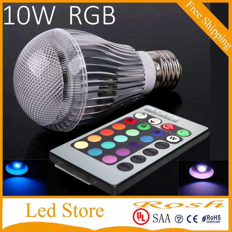 e27 e14 gu10 gu5 3 dimmable color chaging rgb bulb 10w led spotlight lamp ball light bulb with. Black Bedroom Furniture Sets. Home Design Ideas