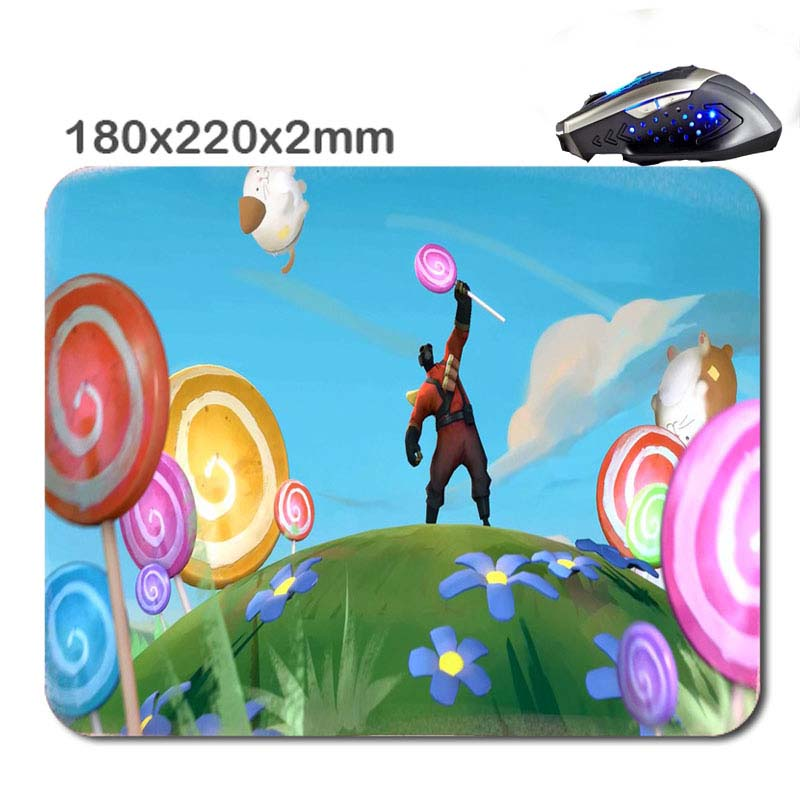 180*220*2mm Do you believe in magic pyro Customized Rectangle Non- Slip Rubber Soft 3D Printing Gaming Mouse Pad Luxury gifts(China (Mainland))