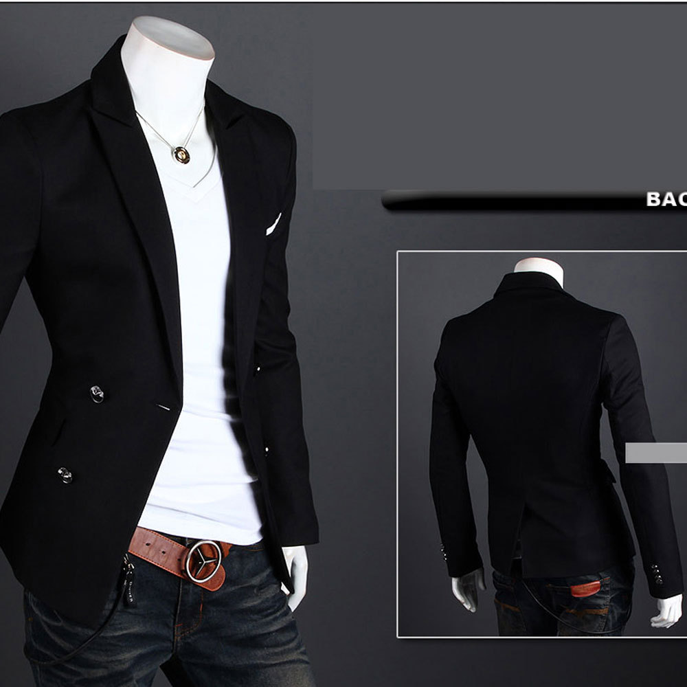 Мужской блейзер OEM Slim Fit 4 m/xxl 2 1269 мужской блейзер brand new m 3xl slim fit men casual blazers