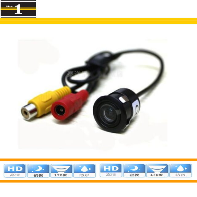 Model #CM002 AUTO Car Rear View Camera / Car Reverse Camera / Car Back Up Camera / HD CCD Night Vision / Make Hole 18mm(China (Mainland))