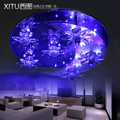 flying led bedroom lights brightness romantic bedroom