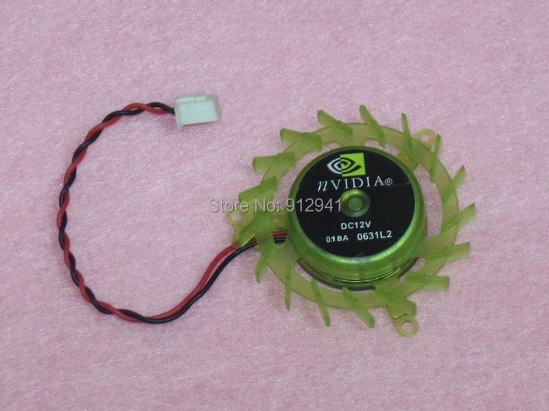DX1245LSNV 45mm Video Card VGA Cooler Fan Replacement 39mm 12V 0.12A 2Wire 2Pin for ASUS BFG PNY 7600GT 7900GS 7900GT 7950GT(China (Mainland))