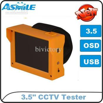 """Wholesale - 3.5"""" TFT LCD Monitor CCTV Security Camera Video Test Tester 12V OUTPUT Free Shipping"""
