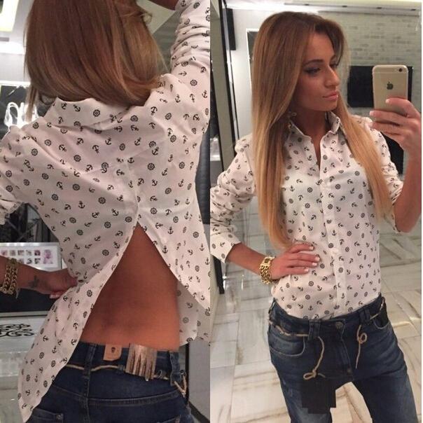 Женские блузки и Рубашки 2015 blusas vestidos SHD0001 женские блузки и рубашки romantic beach 2015 blusas sh051