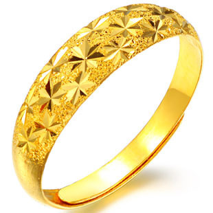 All over the sky star ring High simulation gold ring fashion lovers ring to heartand set brick wholesale all kinds of hand ring(China (Mainland))