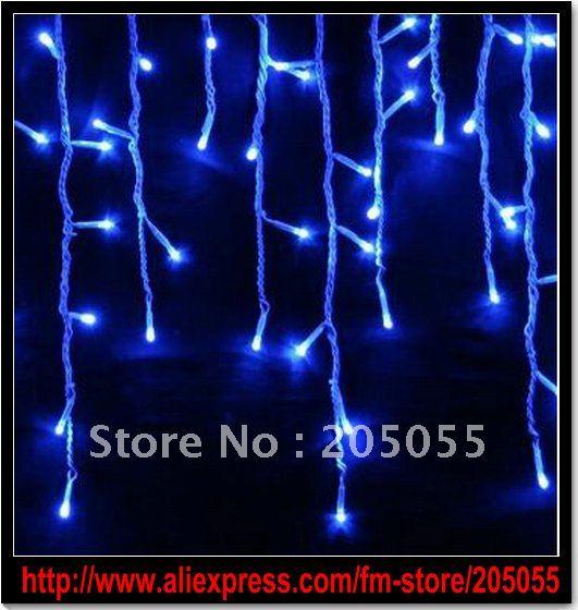 Потребительские товары RSD 100 Xmas lights 100 LED snowing icicle lights curtain lights for Christmas
