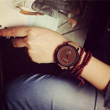 HOT! New Design Fashion Watch Steel Case Men women Leather Quartz analog wrist Watch lady dress watch free shipping