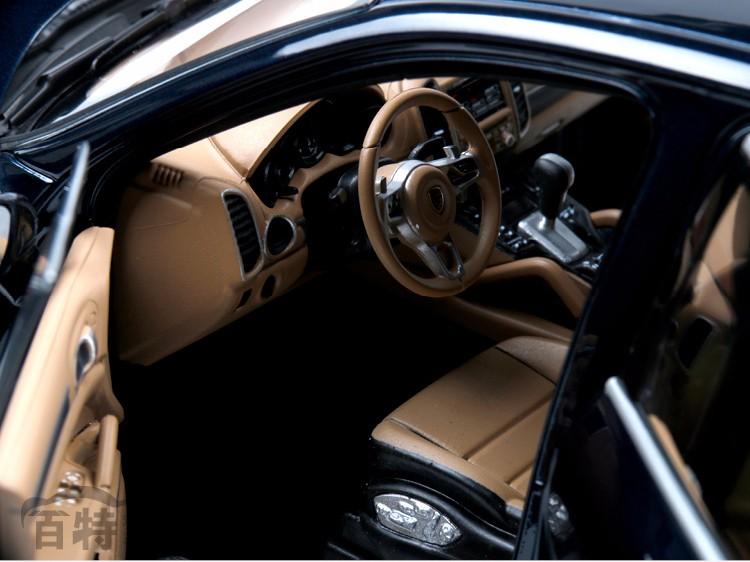New Cayenne Turbo S 1:18 automotive mannequin SUV Toy alloy Minichamps assortment sports activities automotive  Off-road Luxurious vehicles 4S 2014 supercar reward