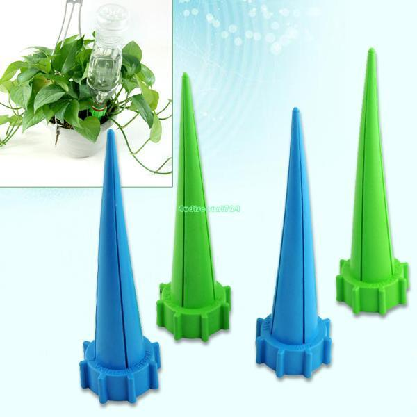 4 Pcs Automatic Watering Water Spikes Cones For Garden drip irrigation drip tape for irrigation hose watering drip tape(China (Mainland))