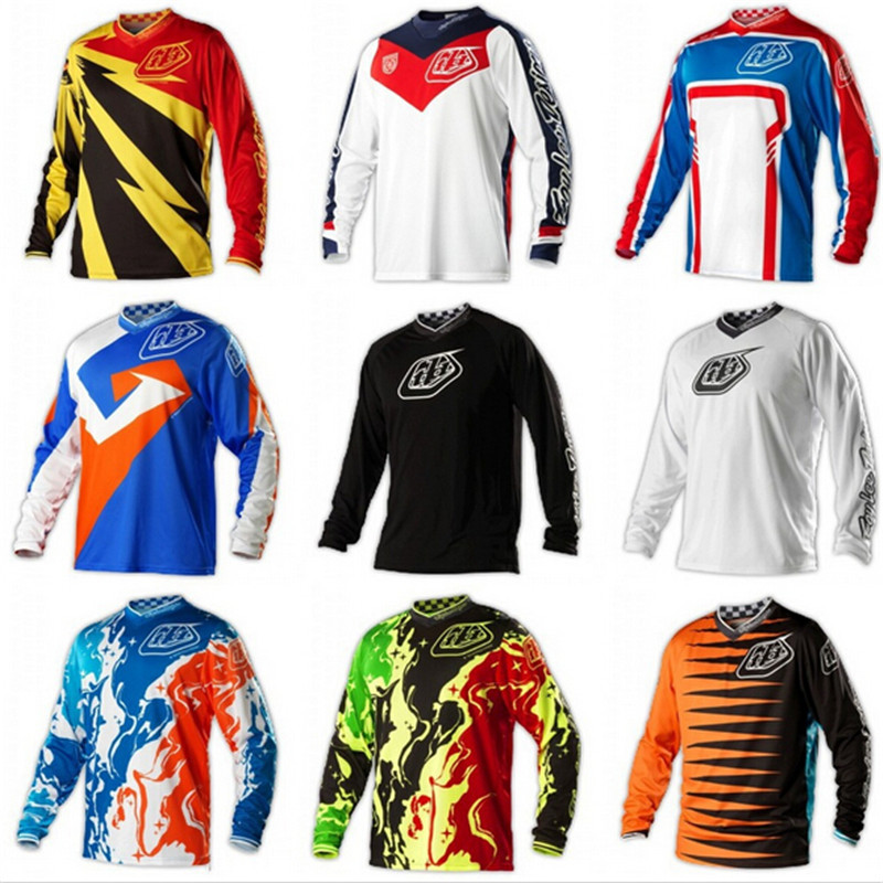 2016 New Pro team GP Mountain Bike Motocross Jersey BMX DH MTB T Shirt Clothes Long Sleeve Jersey,(China (Mainland))
