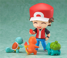 Pokemon Action Figure Toy Nendoroid Ash Ketchum Zenigame Charmander Bulbasaur Action Figure Pokemon Red Anime Collectible Model(China (Mainland))