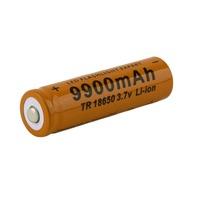 2015 Hot 1 Pcs 18650 battery 3.7V 9900mAh rechargeable liion battery for Led flashlight batery litio battery New