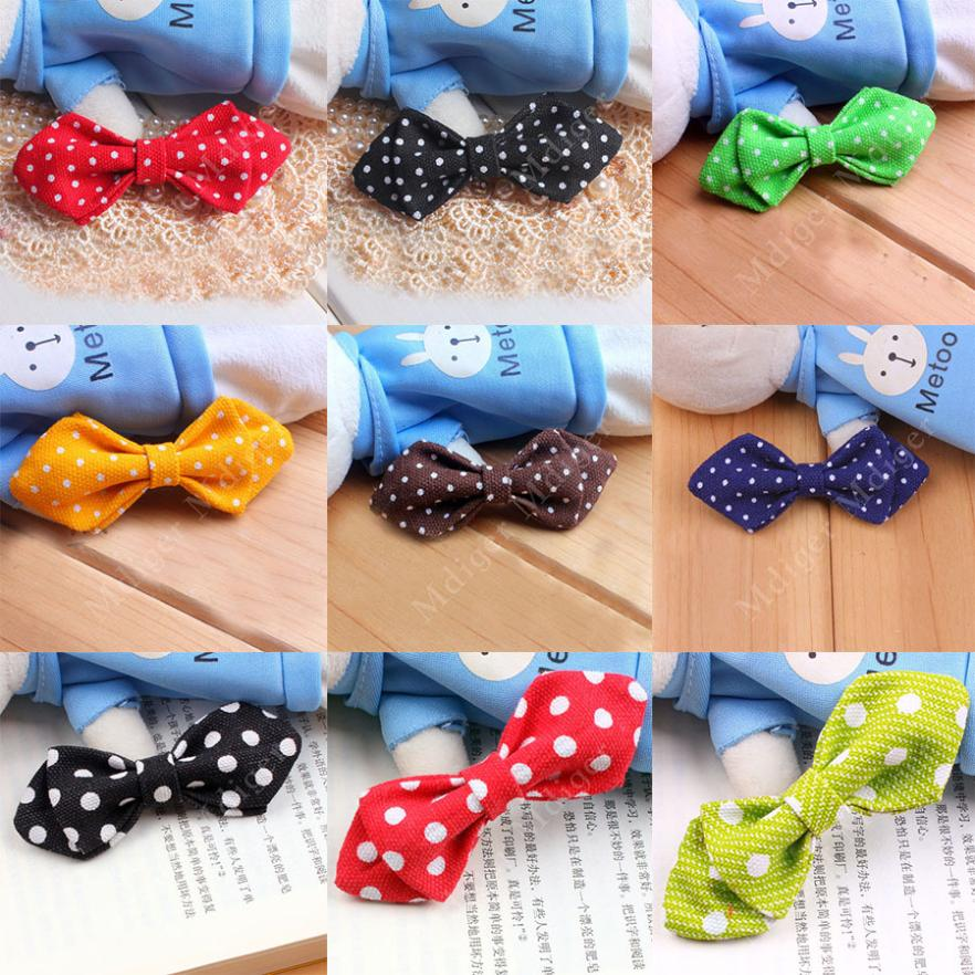 2015 Hot Sale Special Offer Boys Necktie Children Bow Tie Dot Pattern Bowknot Fashion Baby Bow Tie(China (Mainland))