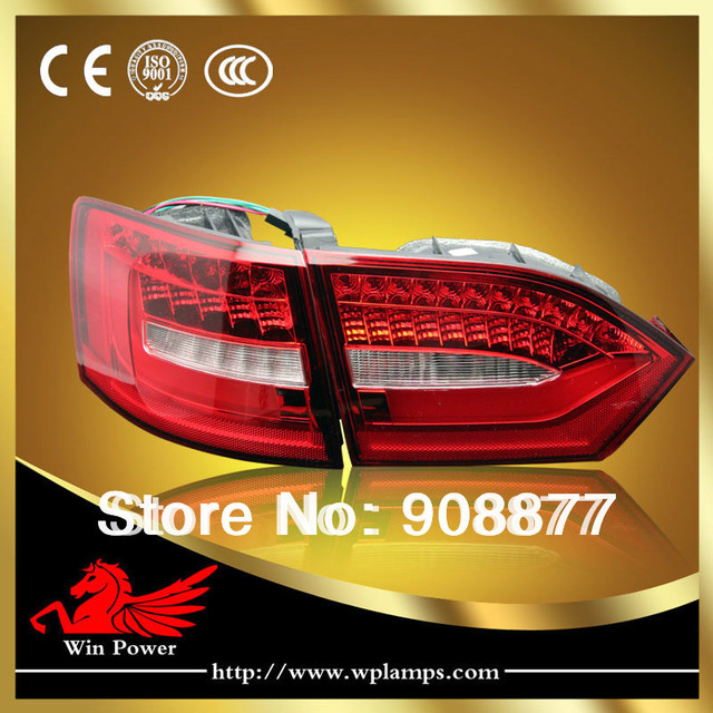 Error free 2011-2014 Vo-lkswagen  Jetta MK6 LED Tail Light,LED Rear Lights  with Turn Light V2 style