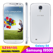 Original Unlocked Samsung Galaxy S4 SIIII i9500 Cell phone 16GB / 32GB ROM Quad-core 13MP Camera Quad Core NFC GPS Refurbished(China (Mainland))