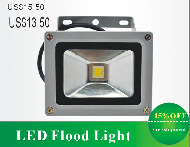 10wCE ROHS Bridgelux COB IP65 waterproof rechargeable led floodlight outdoor lighting wall lamp reflector warm white - Go Lights Company LTD store