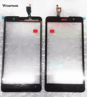 For Acer Liquid Z520 Touch Panel Z520 Touch Screen Digitizer Original With Glue Free Shipping With Tracking Number
