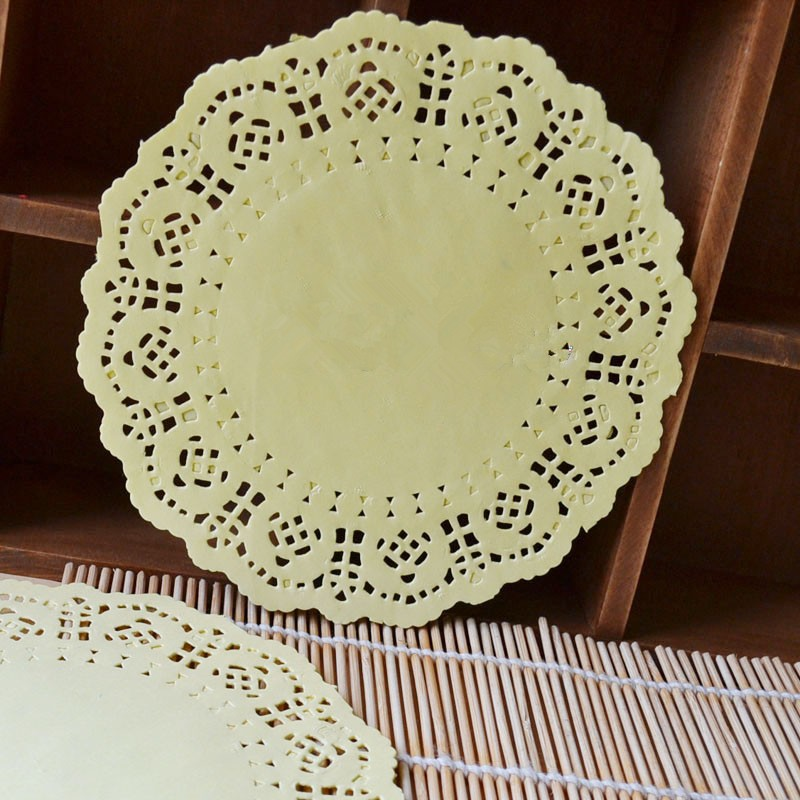 Online Buy Wholesale Yellow Paper Doilies From China