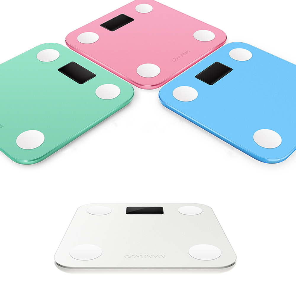 Original YUNMAI MINI Smart Weighing Scale Support Android 4.3 iOS7.0 Bluetooth4.0 Losing Weight Digital Scale Body Fat Scale<br><br>Aliexpress