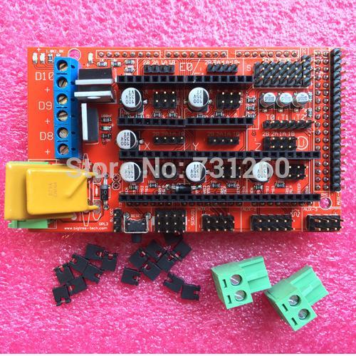 1pcs RAMPS 1.4 3D printer control panel printer Control Reprap MendelPrusa(China (Mainland))