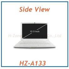 Free Shipping notebook 13 inch cheap laptop computer  with intel Atom D2500 1.86Ghz cpu DDR3  4G RAM&500GB HDD  Webcam WIFI(Hong Kong)
