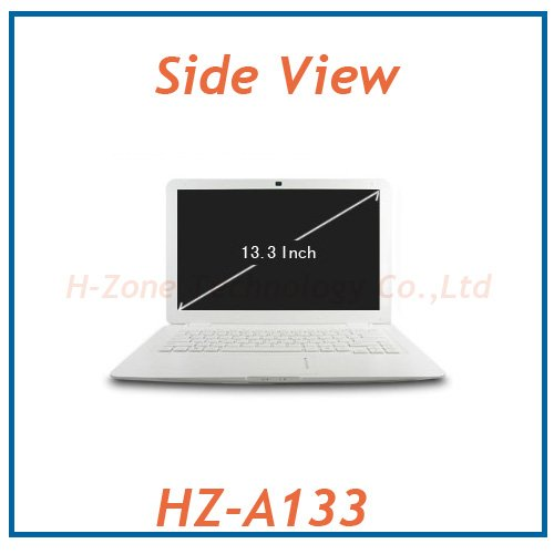 Free Shipping notebook 13 inch cheap laptop computer with intel Atom D2500 1.86Ghz cpu DDR3 4G RAM&500GB HDD Webcam WIFI(Hong Kong)