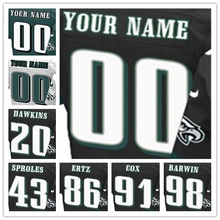 yingyuanFang 100% Stitched Men's #20 Brian #43 Darren #86 Zach #91 Fletcher #98 Connor Elite Black Green White Jersey(China (Mainland))