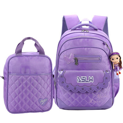 Kids travel trolley bag detachable backpack girls mochila infantil PU+canvas Children school bags Gift handbag!