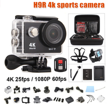 Buy action camera h9 Original ultra deportiva camaras de video go pro hero 4 HD 4K WiFi 1080P 60fps waterproof 170D sport cam for $43.92 in AliExpress store