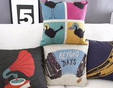 Music bird pillow ,bananas Pillow cushion