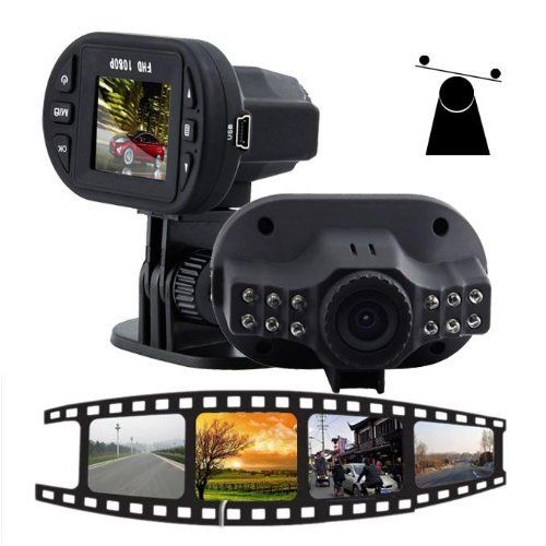 1080P  Full HD IR Night Vision Car DVR Vehicle Camera Video Recorder Dash Cam(China (Mainland))