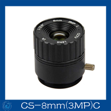 Buy cctv camera lens 8mm Fixed Iris lens, 1/2.5 cs Mount Fixed F1.6 Security Camera.CS-8mm, 3MPC for $6.70 in AliExpress store