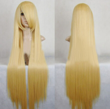 Yellow Blonde Costume Wigs 13