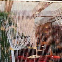 Top Selling For Hot 99Ft Garland Diamond Strand Acrylic Crystal Bead Decor Curtains(China (Mainland))