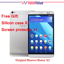 In stock Original Huawei Honor X2 GEM-703L 7Inch Octa Core CPU 1200x1920P 3G RAM 16G ROM Android 5.0 Dual SIM 4G FDD-LTE Phone(China (Mainland))