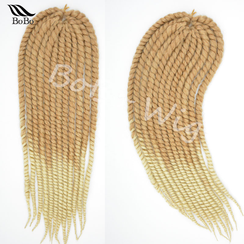 Crochet Hair Sale : Hot Sale 22 Havana Mambo Twist Braid Hair crochet braid hair ...