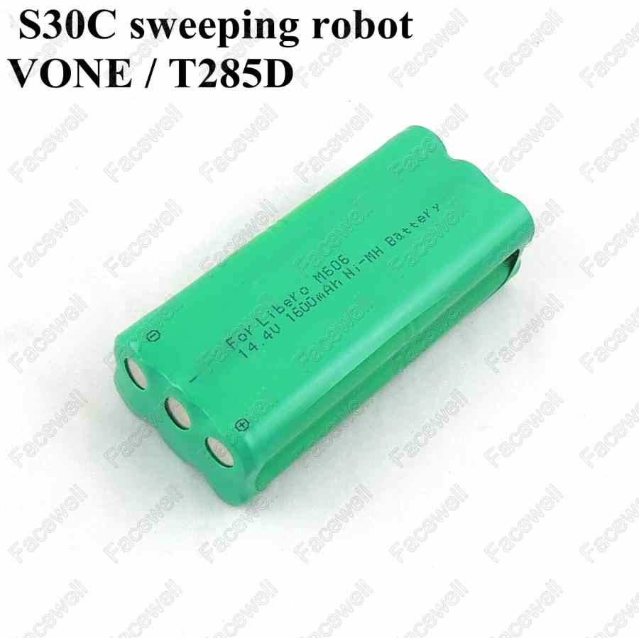 Brand 14.4v ni-mh rechargeable aa 1600mah 14.4v vacuum battery for fo Papago S30C sweeping VONE T285D cleaner intelligent robot(China (Mainland))