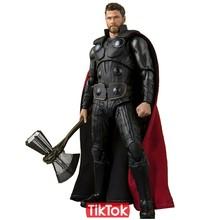 Vingadores Thanos Infinito Guerra Homem De Ferro Do Homem Aranha de Ferro Estrela Carga Pantera Negra Capitão América Black Widow Figura de Ação Brinquedo Modelo(China)