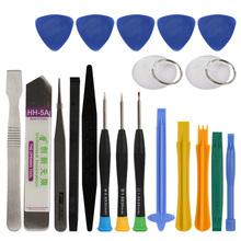 20 in 1 Mobile Phone Repair Tools Kit Spudger Pry Opening Tool Screwdriver Set for iPhone iPad Samsung