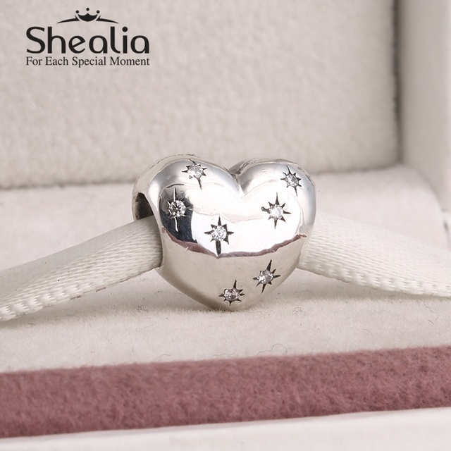 925 чистое серебро комикс мышь в форме сердца подвески-талисманы письма из быть волшебный подвески-талисманы подходит своими руками браслеты SH0561