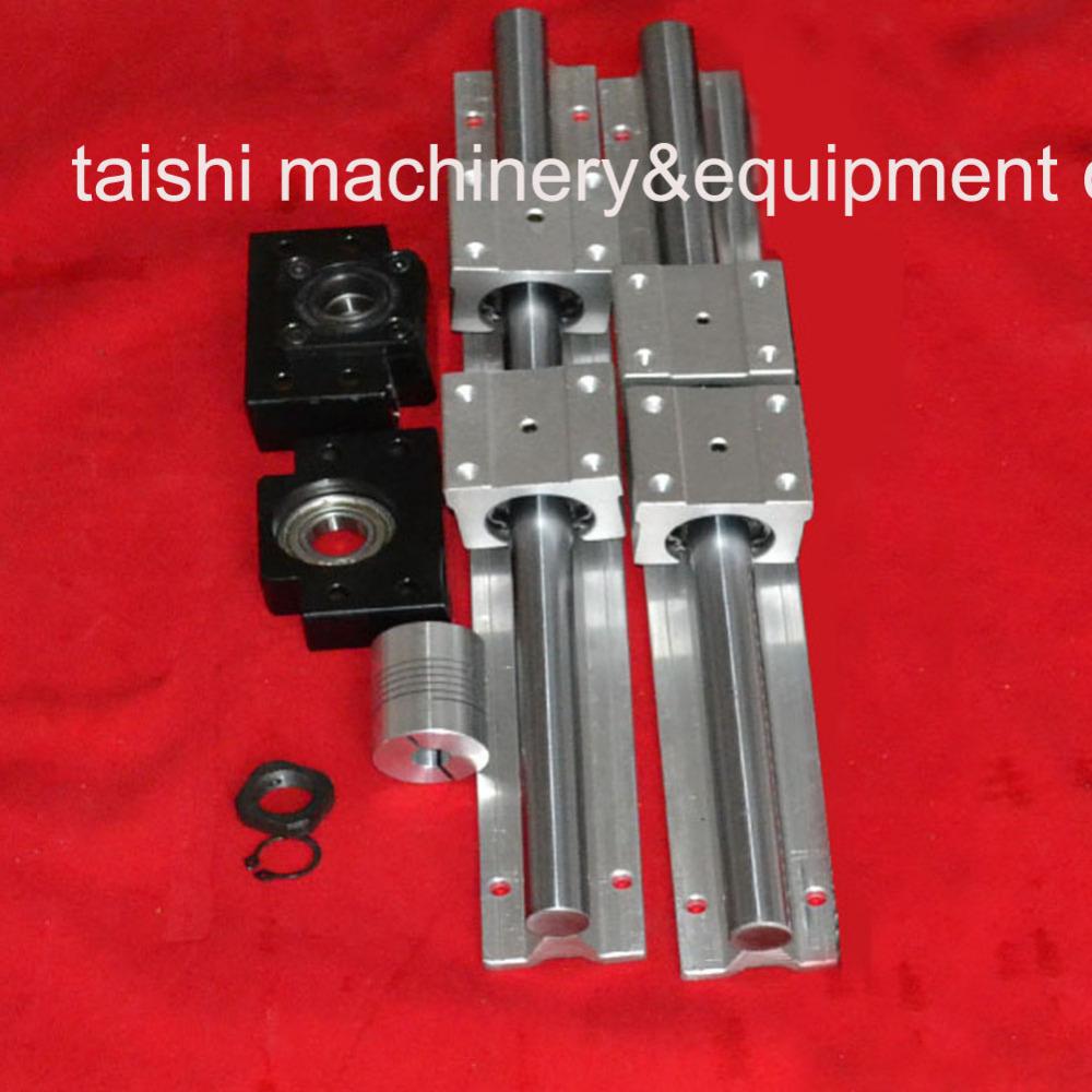 Шарико-винтовая пара TS 2 sbr12/300 + 4 SBR12UU + BK/BF12 линейные направляющие mte 2 sbr12 l1625mm 4 sbr12uu