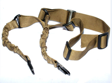 2 Point Airsoft Hunting Belt Tactical Military Elastic Black Army Green Gear Gun Sling Strap Outdoor