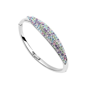 Hot Wedding Accessories Bangle Indian Jewelry Carter Bracelets for Women Made With Swarovski Elements Crystals from Swarovski(China (Mainland))