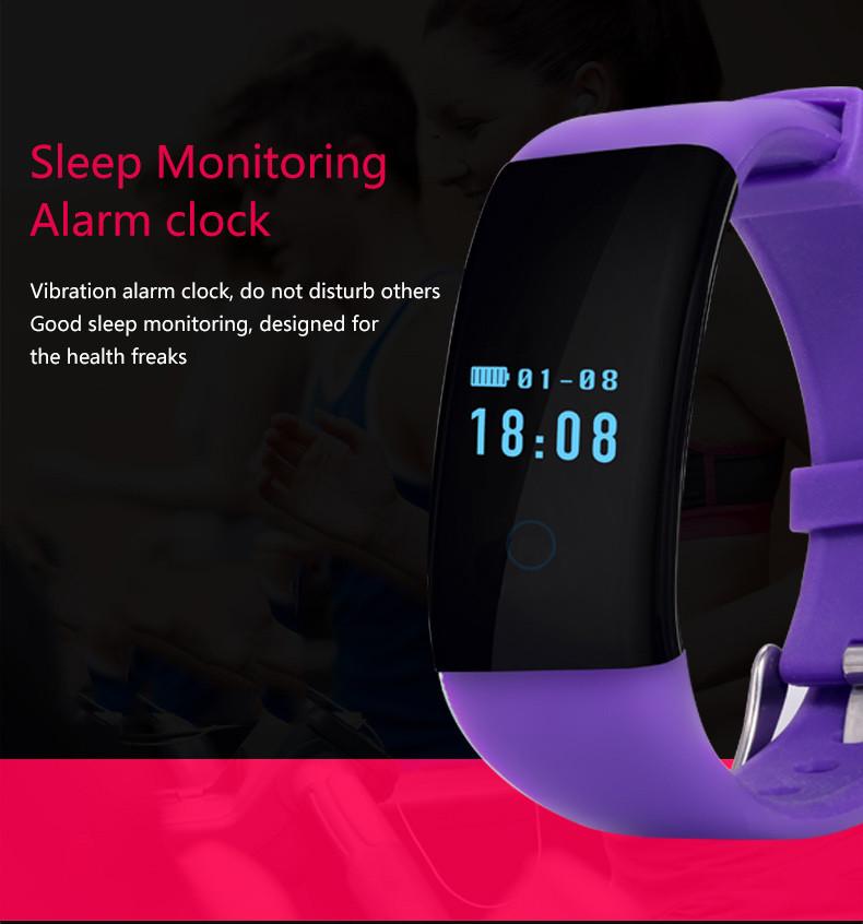 BOZLUN D21 Men Women Heart Rate Smart Bracelet Call Message Reminder Watch Fashion Sport Smart Wristband IOS Android Wristwatch