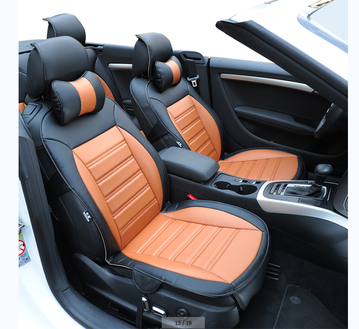 free shipping fiber leather car seat cover for hyundai elantra ix 45 accent tucson moinca sonata. Black Bedroom Furniture Sets. Home Design Ideas