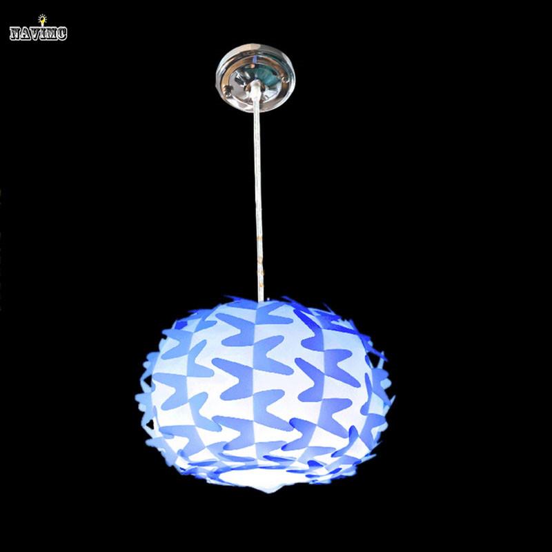 Simple pendant lights for kids baby children room diy for Hanging lights for kids room