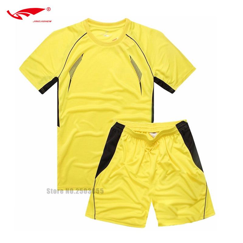 DIY 2016 Kids Football Jerseys Team Training Soccer Jerseys 6 Colors Kids Sport Uniforms Football Soccer Kits For Children(China (Mainland))